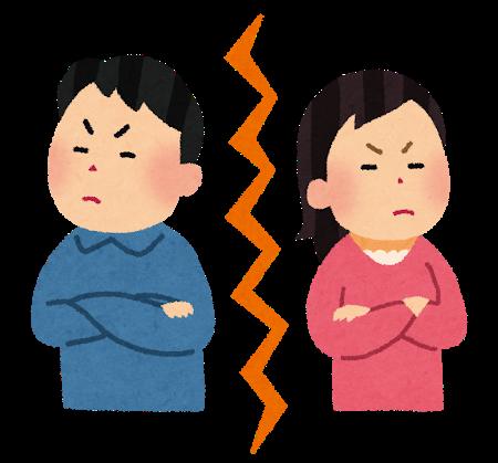 夫婦喧嘩の禁句