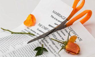 離婚の危機がありました