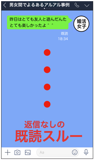 追われる女LINE方法14