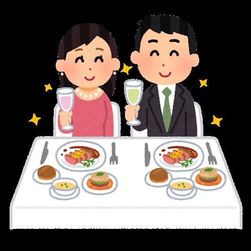 付き合って1ヶ月記念日は食事デートがオススメ!