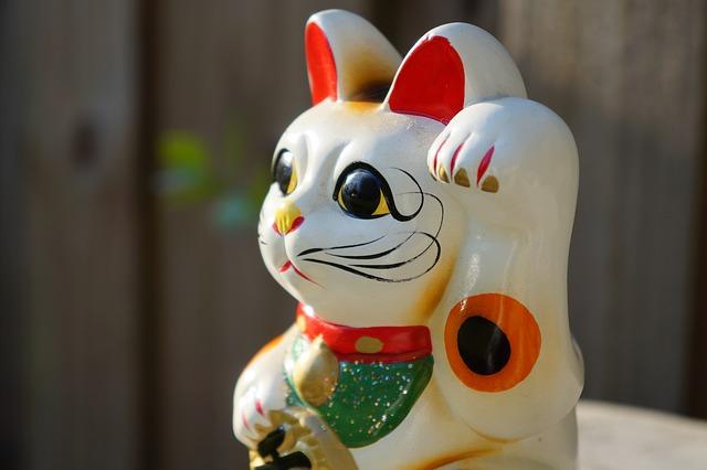 金運アップ・招き猫1