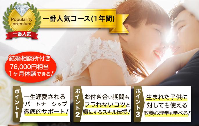 婚活コンサルティング・一番人気コース