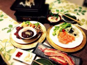 家庭的な料理1